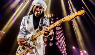 Nile Rodgers performs at the Ziggo Dome, Amsterdam, in November 2016