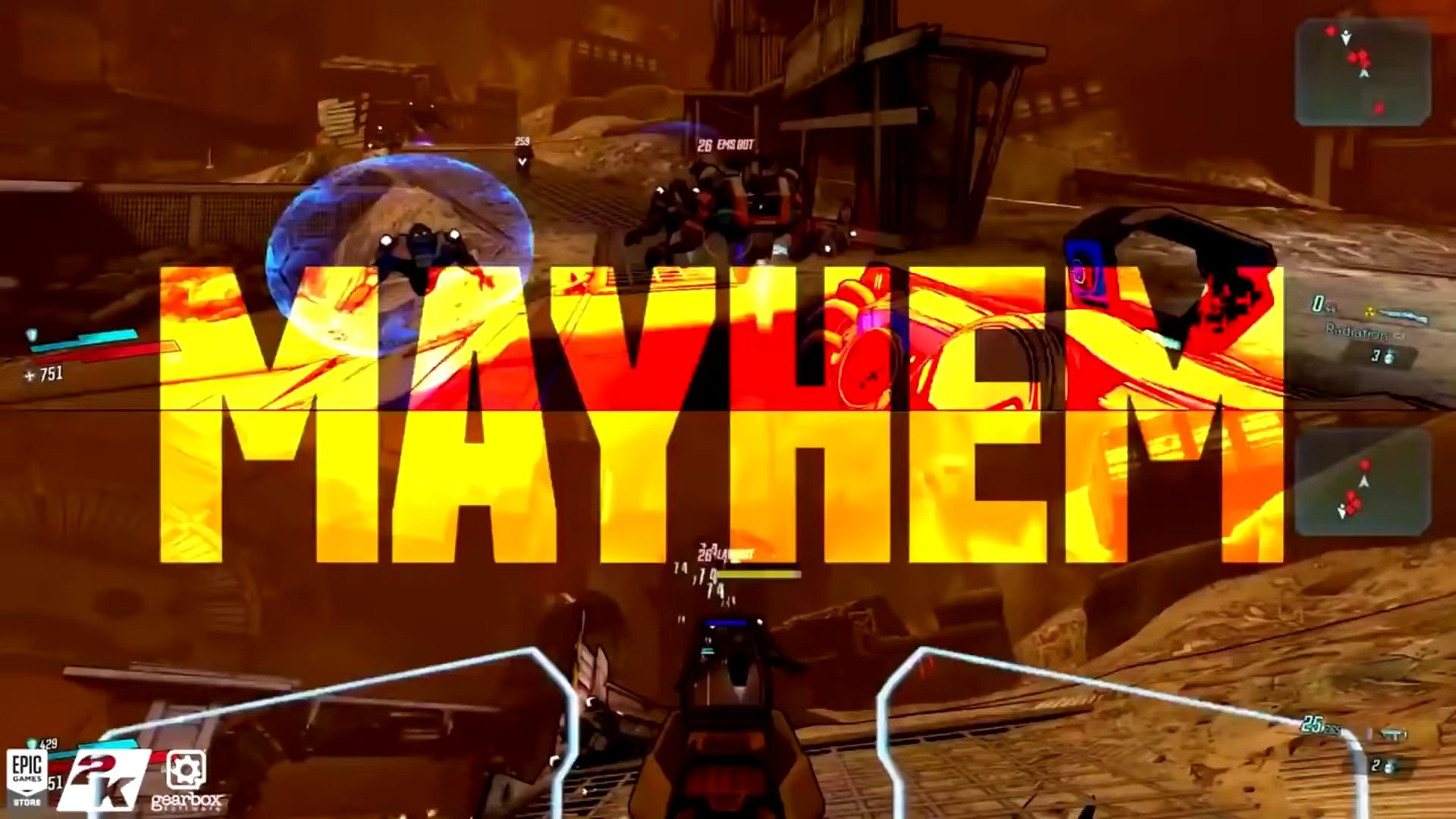 Borderlands 3 will have a new elemental damage type: Radiation