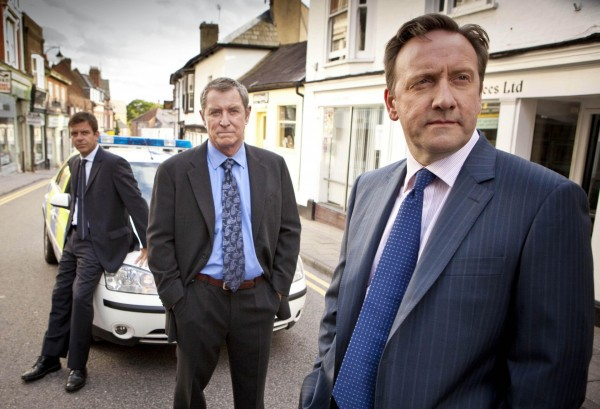 DS Ben Jones (played by Jason Hughes), DCI Tom Barnaby (played by John Nettles) and DCI John Barnaby (played by Neil Dudgeon) from Midsomer Murders (Bentley Productions/PA)