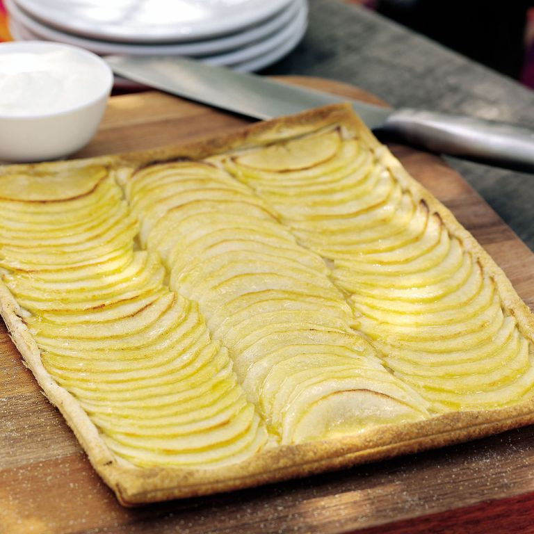 French Style Apple Tart recipe-Tart recipes-recipe ideas-new recipes-woman and home