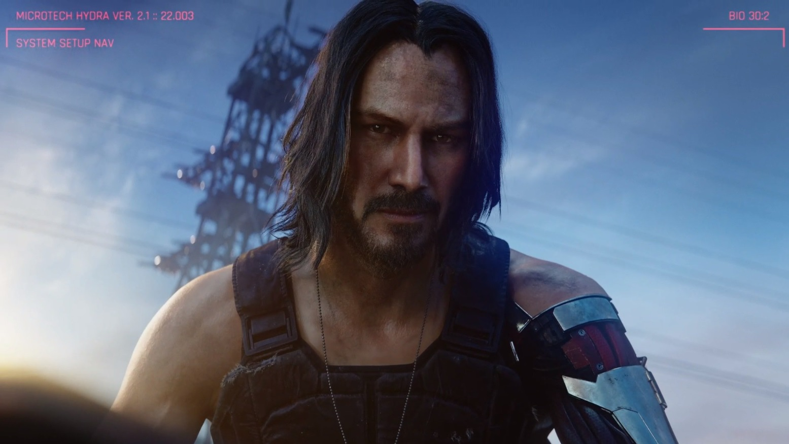 From Cyberpunk to Keanu Reeves: This is the unpublished origin story