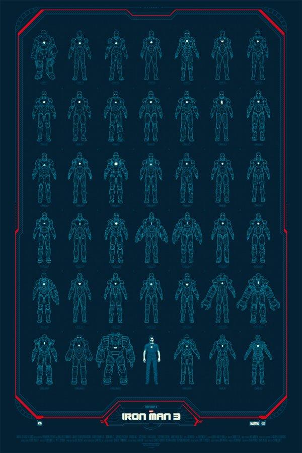 Iron Man 3 Mondo Posters: You Need To Own These