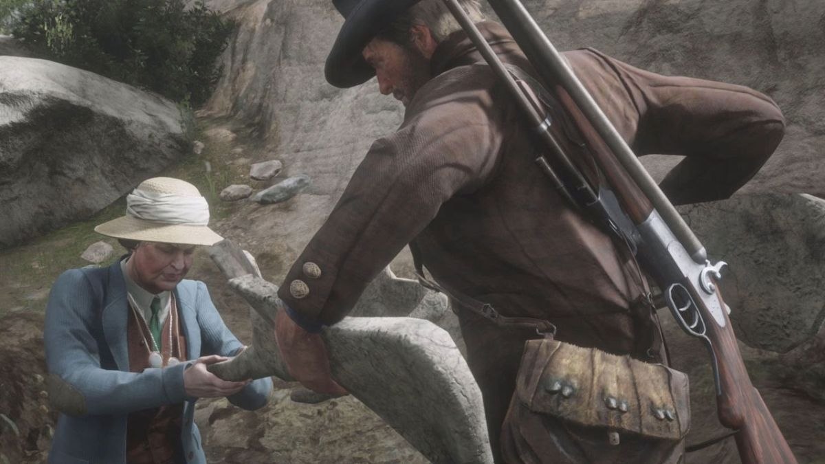 Red Dead Redemption 2 dinosaur bones locations: How to find all 30 across the map
