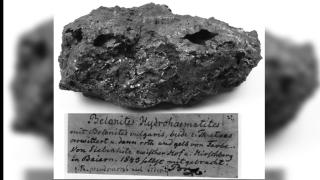 Sample of hydrohematite