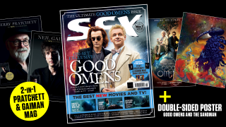 The cover of SFX issue 313, plus the supplement and poster which come with it.