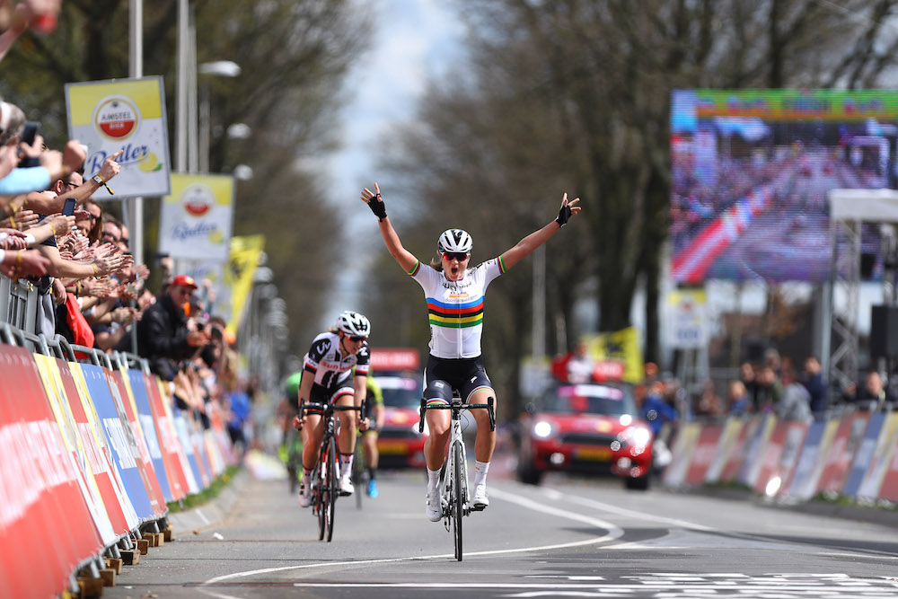 World champion Chantal Blaak wins 2018 Amstel Gold Race ...