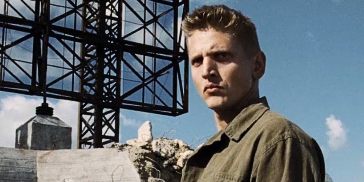 Barry Pepper in Saving Private Ryan