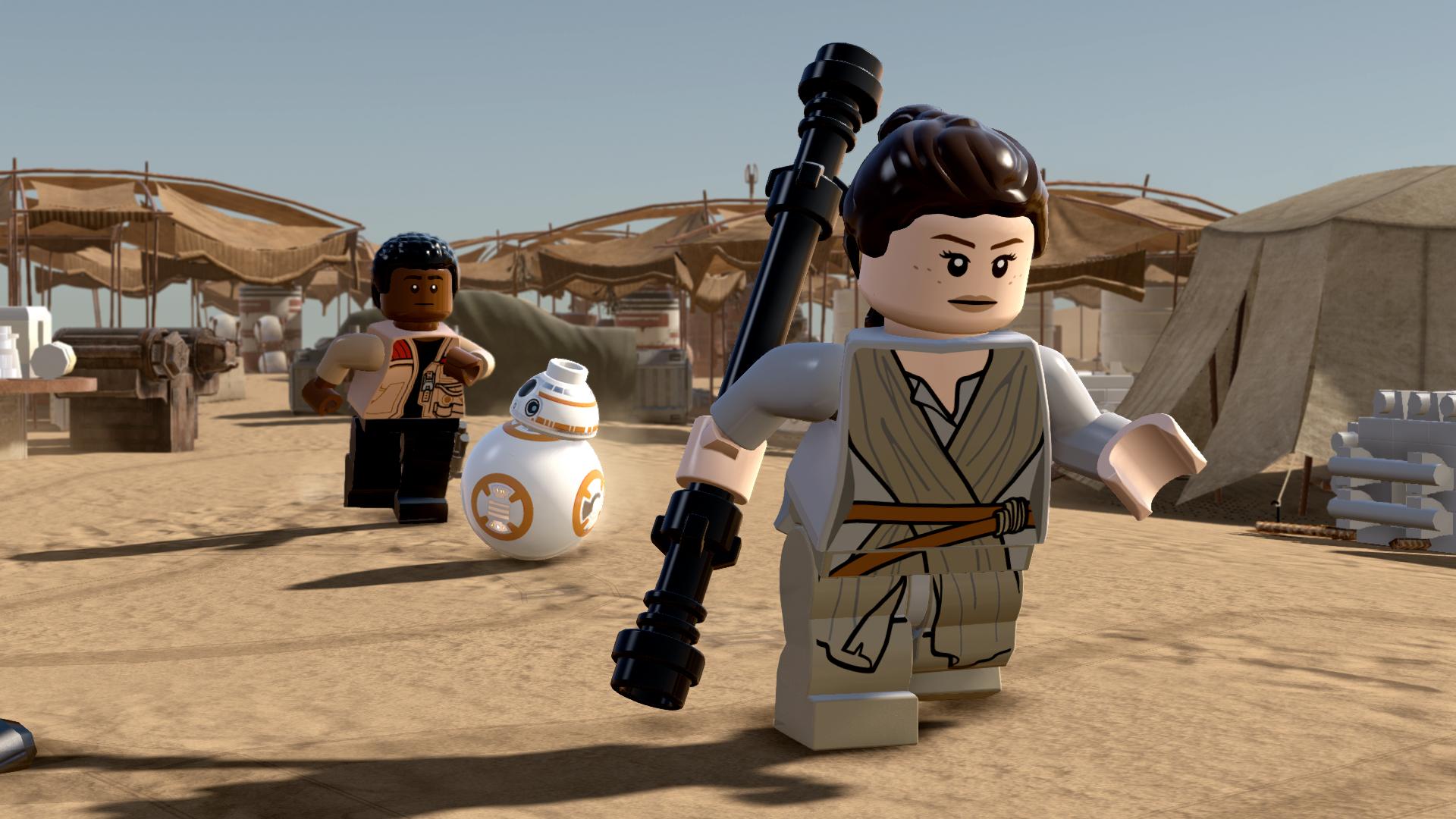 Lego Star Wars The Force Awakens Review Gamesradar