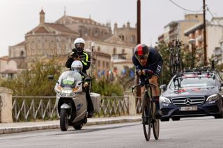 Giro d'Italia 2020 - 103th Edition - 1st stage Monreale - Palermo 15,1 km - 03/10/2020 - Geraint Thomas (GBR - Team Ineos) - photo Luca Bettini/BettiniPhoto©2020