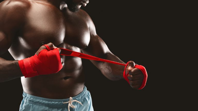 Boxing training with Ed Latimore