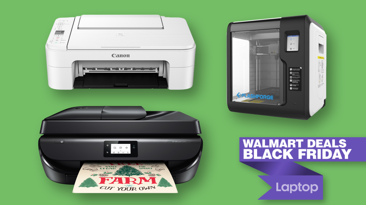 The best Black Friday printer deals are at Walmart — Save up to 59% on HP, Canon and more