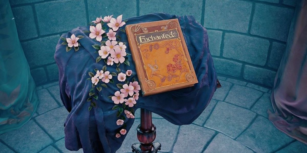 Enchanted storybook opening