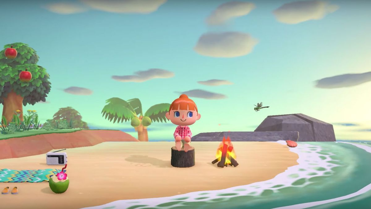 Animal Crossing: New Horizons has decoration options for the whole dang world, not just your house