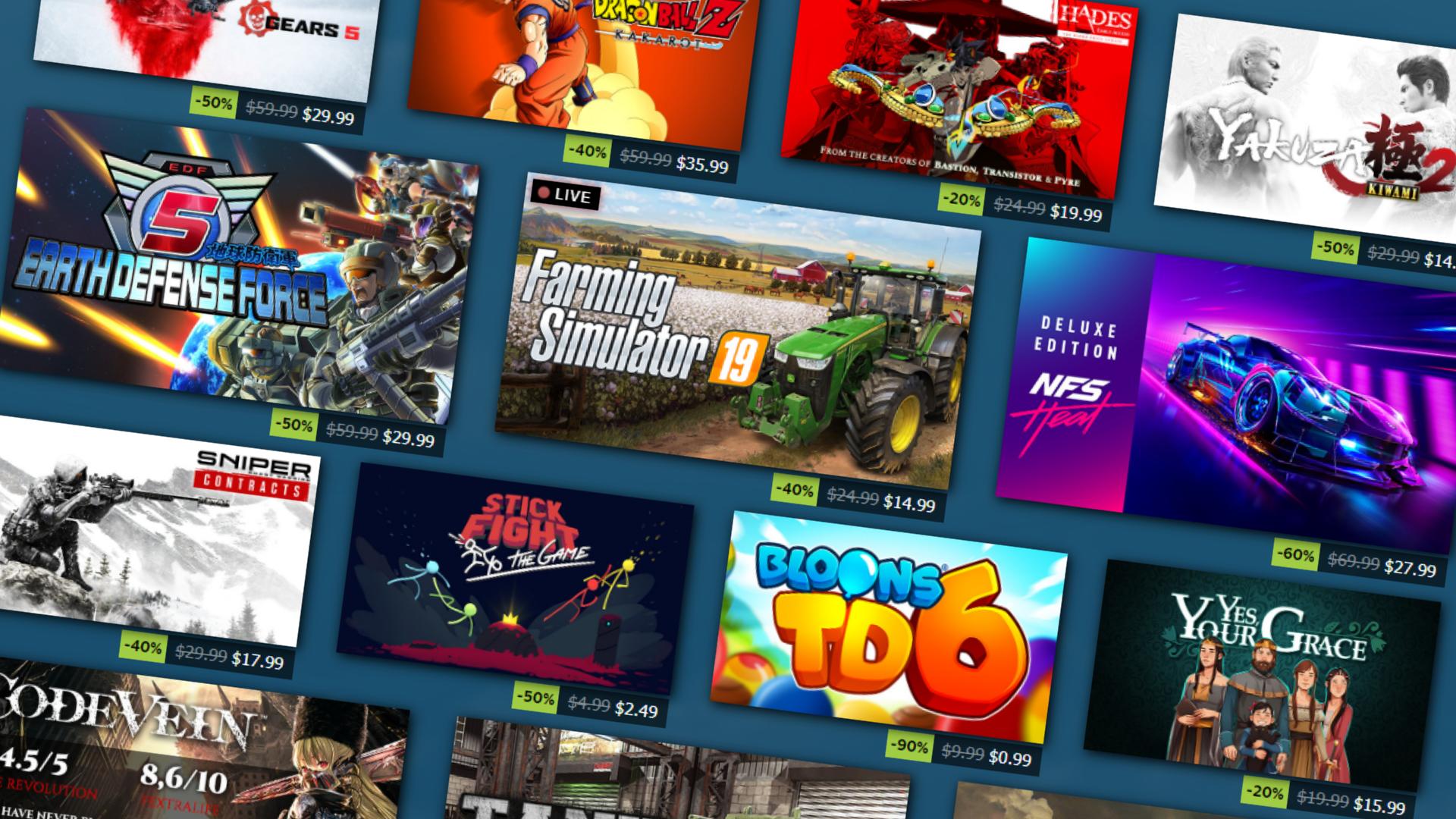 The Best Deals In The Steam Summer Sale Pc Gamer