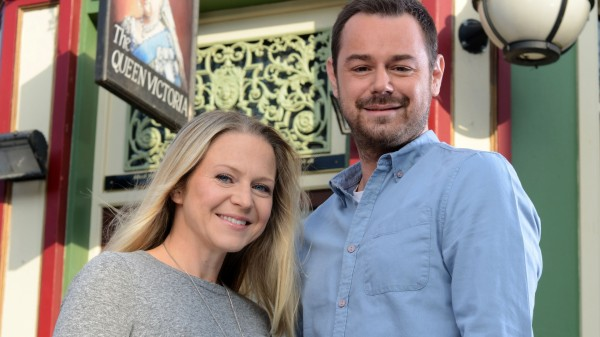 Danny Dyer and Kellie Bright as Mick and Linda Carter (BBC)