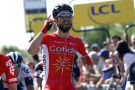 Nacer Bouhanni wins stage one of the 2016 Dauphine-Libere