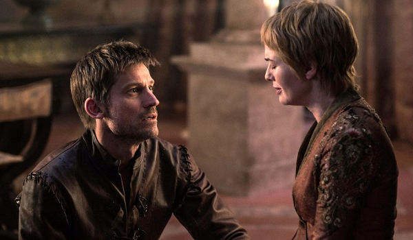 Jaime And Cersei Game Of Thrones HBO