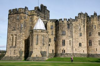 The Duchess focuses on a new project near Alnwick Castle.