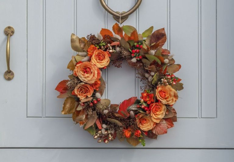 DIY fall wreath: How to make an autumn wreath