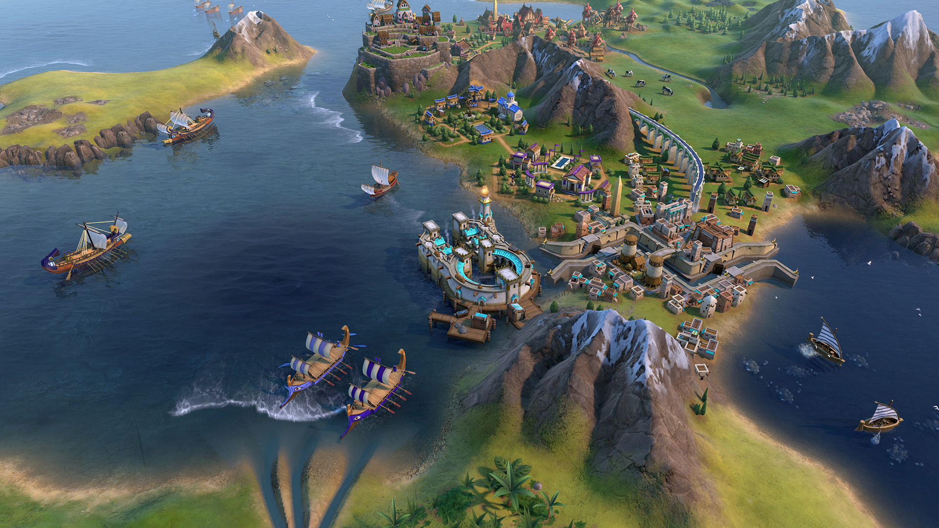 Weather Civilization 6's Gathering Storm as the nautical Phoenicians