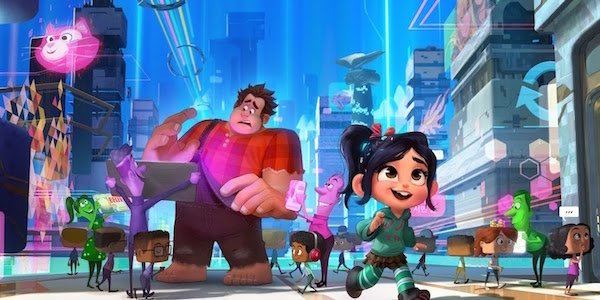 Ralph Breaks the Internet with Vanellope