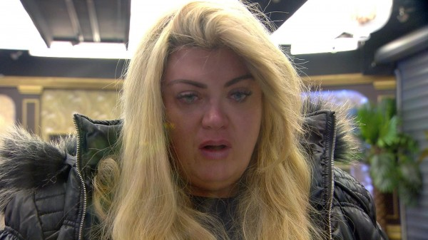 TV star Gemma Collins in Celebrity Big Brother