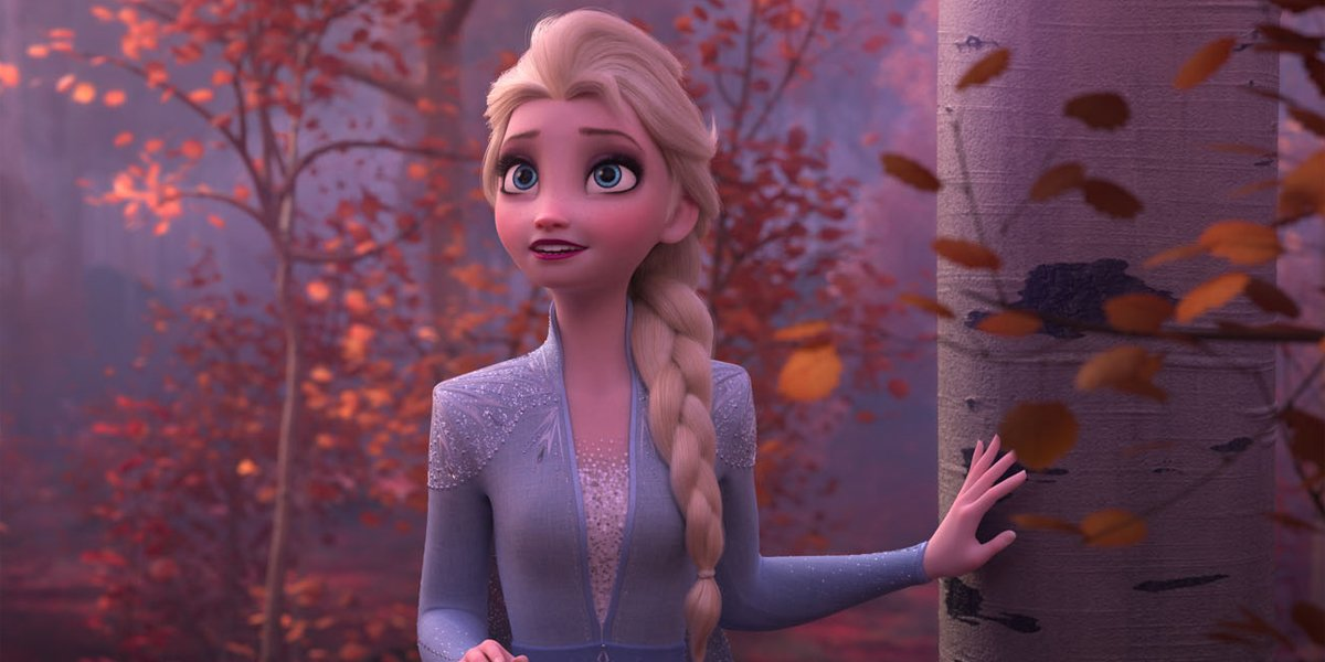 Elsa in the Frozen II Ending 2019