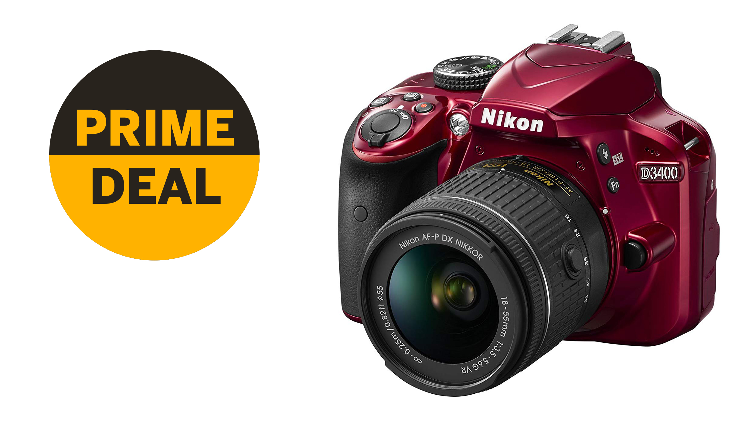 Nikon D3400 plummets to $315!Save 51% in this insane Prime Day Lightning Deal! | Digital Camera World