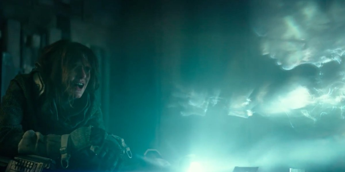 Emily Mortimer in Spectral