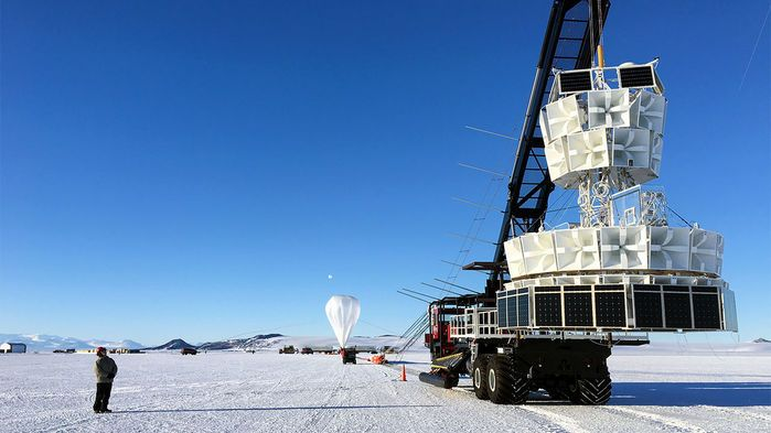 Mysterious particles spewing from Antarctica defy physics