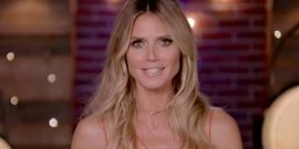 Heidi Klum Shares Topless Photo While On Vacation