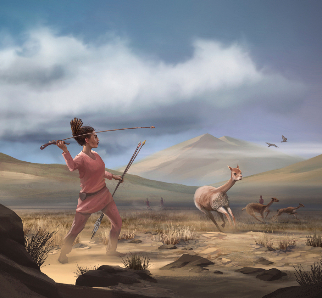 Ancient burial of fierce female hunter (and her weapons) discovered in Peru thumbnail