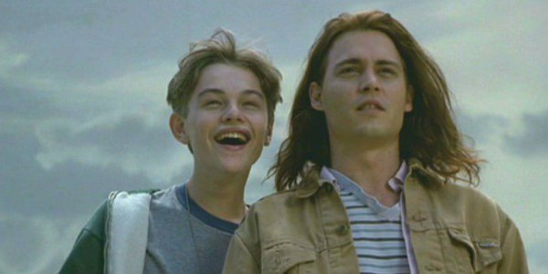 Leonardo DiCaprio and Johnny Depp as brothers in What's Eating Gilbert Grape?
