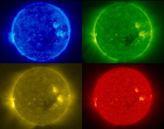 Four Views of the Sun