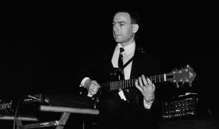 Robert Fripp performs with King Crimson in 1981