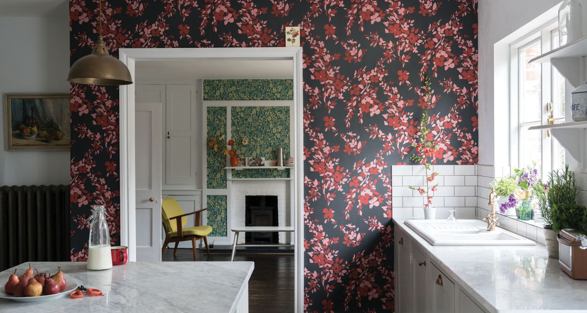 Cover your walls in playful prints with these country wallpaper ideas