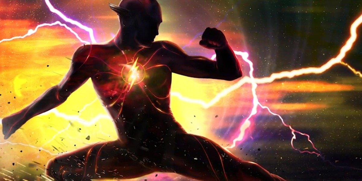 The Flash solo movie concept art