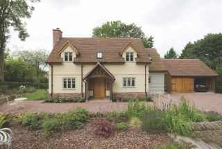 a traditional style self build home