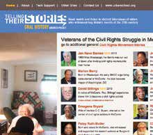 SITE WE LIKE TELLING THEIR STORIES: CIVIL RIGHTS STRUGGLE