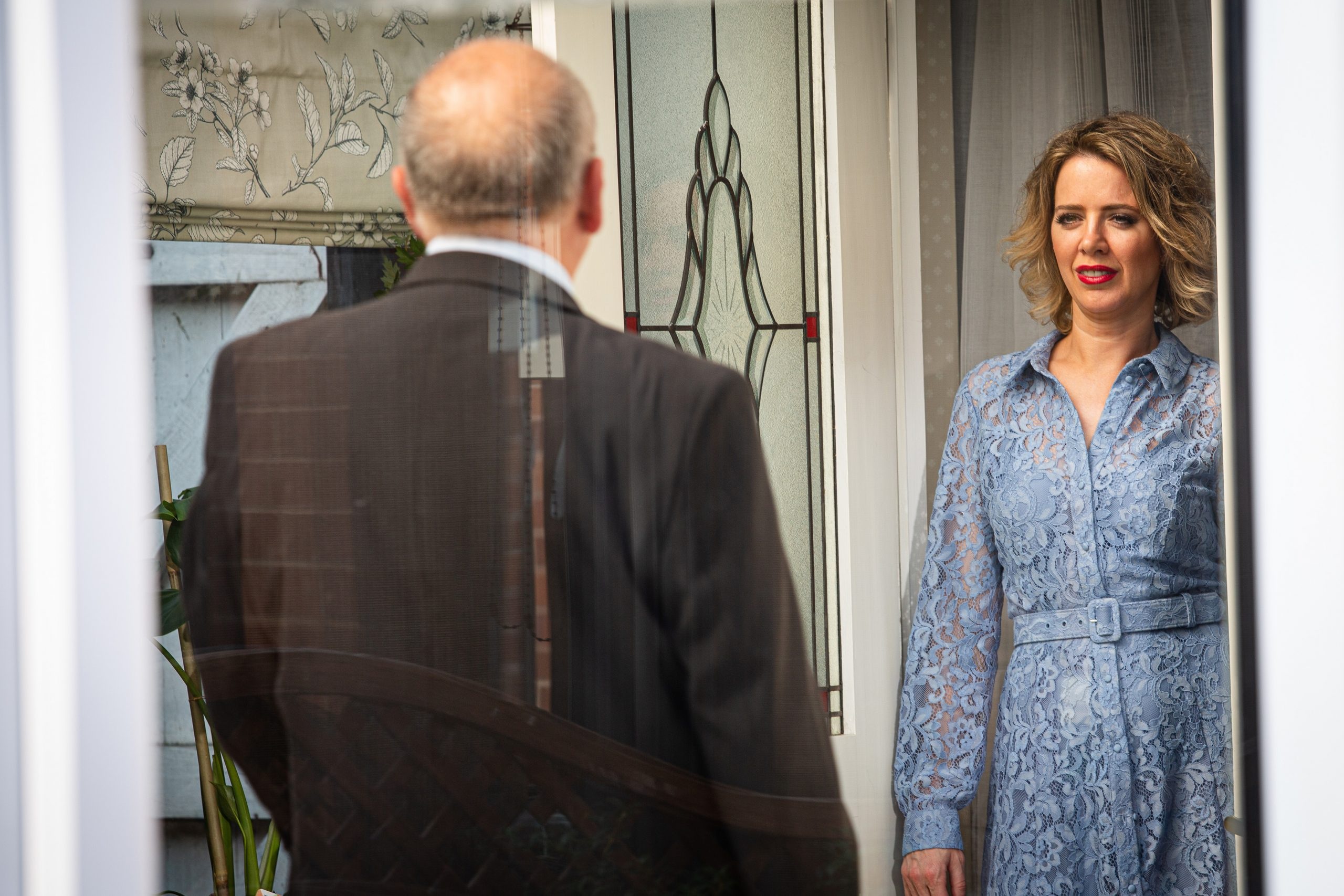 Abi Franklin has sinister plans for Geoff…