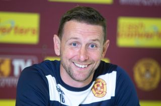 Soccer – Scottish Premiership – Motherwell Press Conference – Fir Park