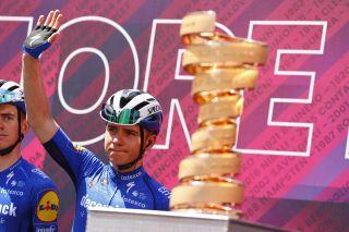Giro dItalia 2021 104th Edition 13th stage Ravenna Verona 198 km 21052021 Remco Evenepoel BEL Deceuninck QuickStep photo Luca BettiniBettiniPhoto2021