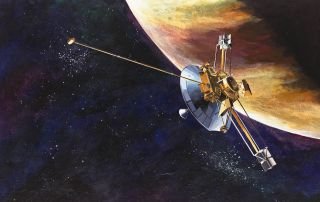NASA's Pioneer 10 spacecraft