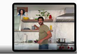 CentreStage on iPad Pro 2021