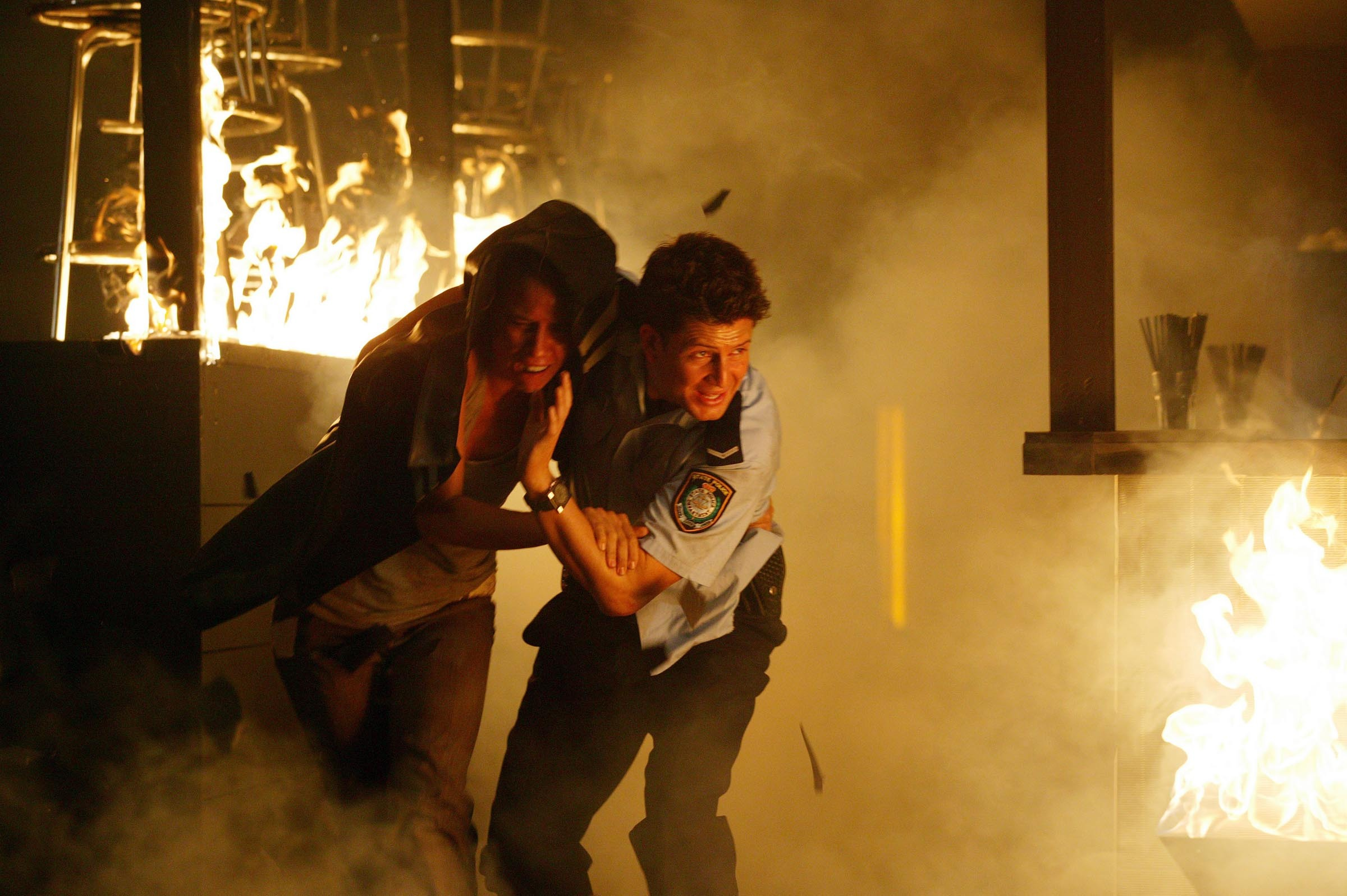 Jack battles to save Martha