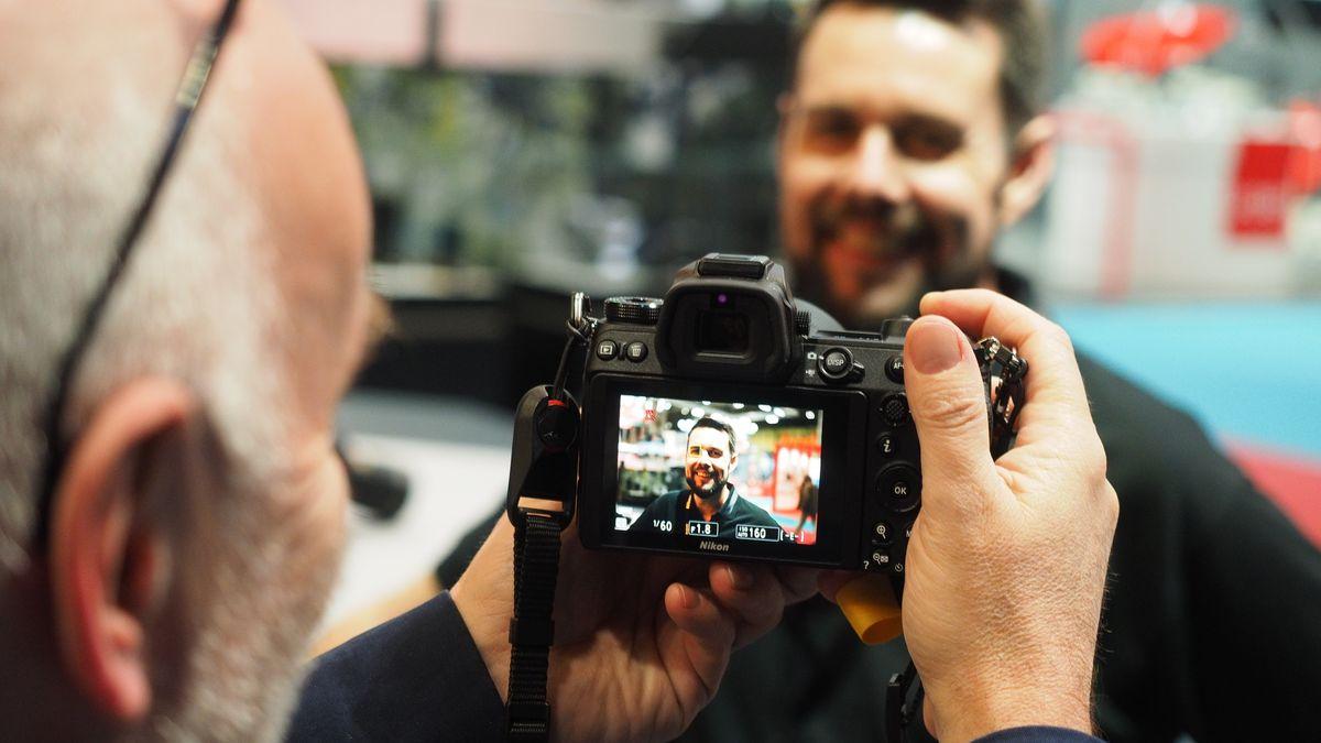 Nikon's eye-tracking AF in action   Digital Camera World
