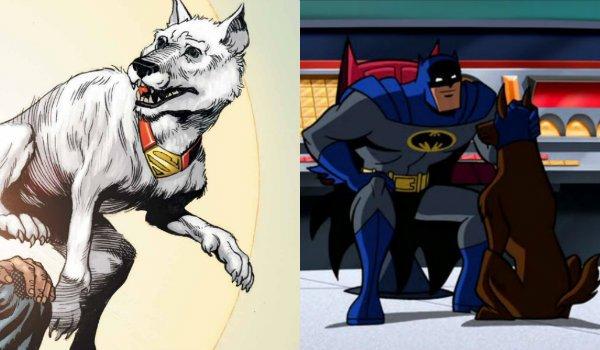 Krypto the Superdog and ace the bathound