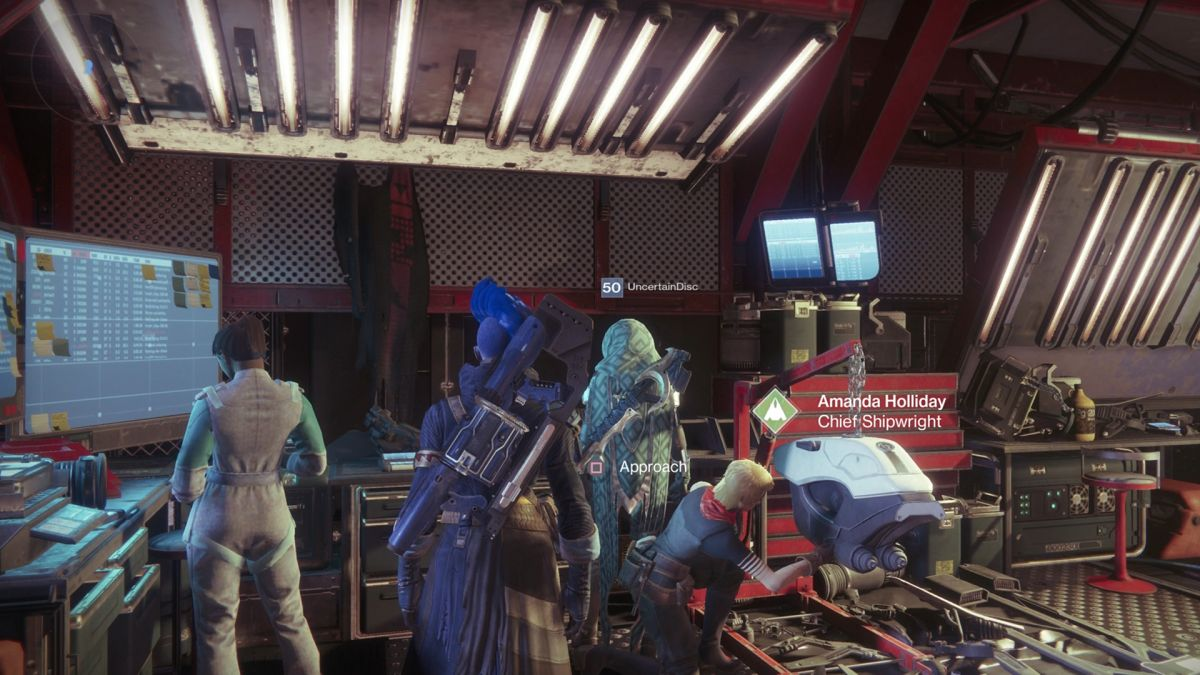 Cayde 6 S Cape Is Still Hanging In The Tower Destiny 2