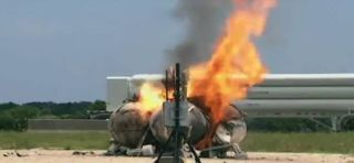 Morpheus Prototype Lander Crashes