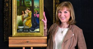 When her art dealer husband Neil died of a brain tumour in 2014, Becky Wilson decided to prove that the painting he claimed was by French master Paul Delaroche was the real thing.
